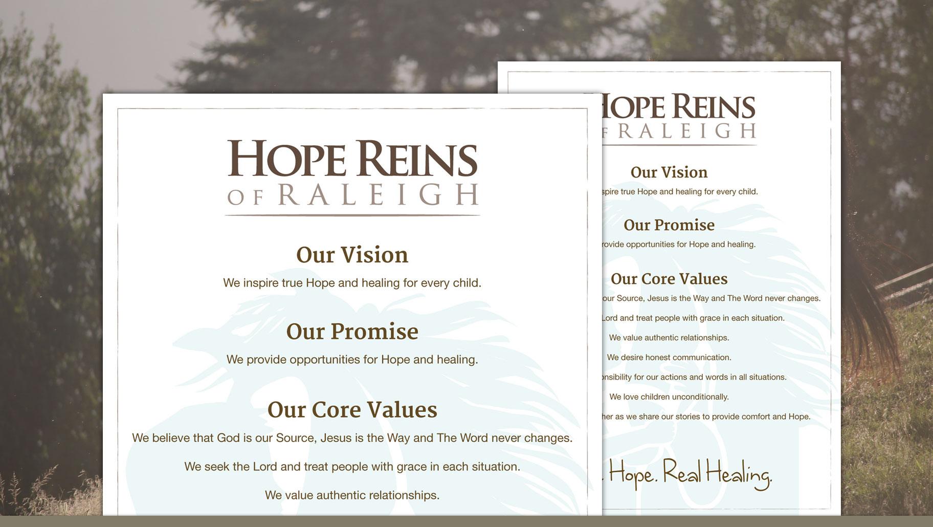 Hope Reins NC